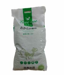 Love Cat 栗米豆腐貓砂 18L (綠茶味)