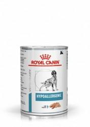 [凡購買處方用品, 訂單滿$500或以上可享免費送貨]  Royal Canin - Hypoallergenic (DR21) 低過敏處方 狗罐頭 400g x12罐原箱