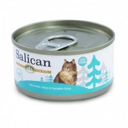 Salican 挪威森林 白肉吞拿魚+南瓜湯 貓罐頭  85 克