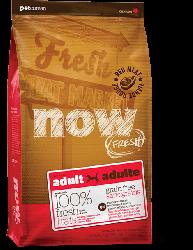 NOW FRESH!™ 全犬種 無穀物成年紅肉狗糧配方 (羊肉+豬肉) 25磅