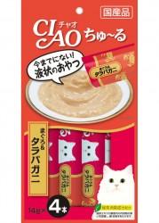 Ciao SC-108 吞拿魚+鱈場蟹醬 14g (14g x4)