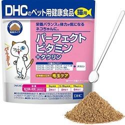 日本DHCペット 貓用保健食品 牛磺酸+維生素配方 50g