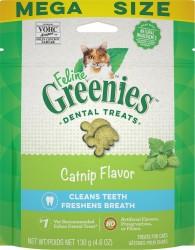 Greenies 貓貓潔齒餅 貓草味 4.6oz