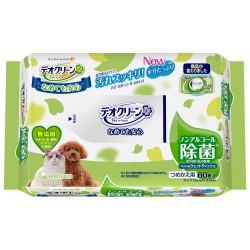 Unicharm 犬貓用 除箘清潔紙 60枚