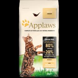 Applaws 全天然無谷物成貓糧雞肉配方2kg