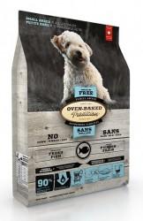 Oven Baked無穀物5種魚全犬糧5磅 (細粒)