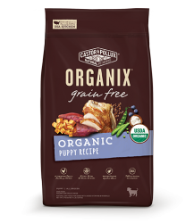 ORGANIX 無穀物犬糧 - 有機幼犬配方 4lb