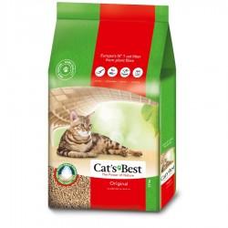 Cat's Best凝結木屑砂(紅標)40L x2包優惠