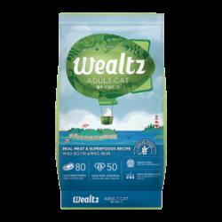 Wealtz 成貓配方 - 鮮雞肉、超級食物食譜 (綠色) 1.2Kg