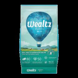 Wealtz 幼犬配方 - 鮮雞肉、超級食物食譜 (藍色) 1.2Kg