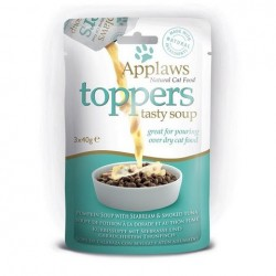 Applaws Toppers 鮮肉佐食湯包 - 鯛魚+煙燻吞拿魚 南瓜湯 (40gx3小包)