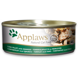 Applaws 天然貓罐 吞拿魚 & 紫菜 156g x24罐優惠