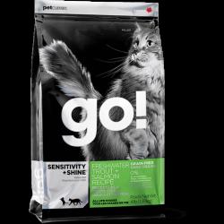 Go! 無穀物鱒魚三文魚美毛配方全貓糧8磅