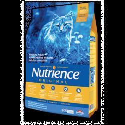 Nutrience 紐翠斯 Original 經典雞肉糙米配  成貓糧 5kg (11lb)