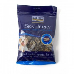 Fish4Dogs Sea Jerky Tiddlers FF 純魚皮方塊 (小粒) 100g