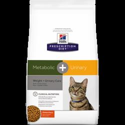 [凡購買處方用品, 訂單滿$500或以上可享免費送貨]  Hill's c/d + Metabolic+Urinary 體重+泌尿護理 獸醫配方 貓乾糧 6.35磅