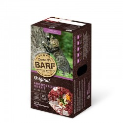 Dr. B 急凍袋鼠肉貓糧 3lb (12片) x8盒優惠