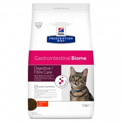 [凡購買處方用品, 訂單滿$500或以上可享免費送貨]  Hill's Gastrointestinal Biome 消化/纖維護理 獸醫配方 貓乾糧 4磅