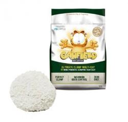Garfield Cat Litter-加菲貓凝結貓砂-幼顆粒可沖廁玉米+木薯 (綠) 10Lb