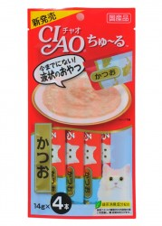 Ciao SC-72  鰹魚醬 14g (14g x4) x2包優惠
