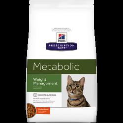 [凡購買處方用品, 訂單滿$500或以上可享免費送貨]  Hill's Metabolic獸醫配方貓乾糧 1.5kgs