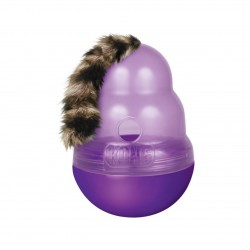 Kong 不倒翁喂食器玩具 漏食球玩具 (紫色)