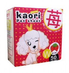 Kaori pet sheets 士多啤梨味尿片 45x60cm 50片 x8包優惠