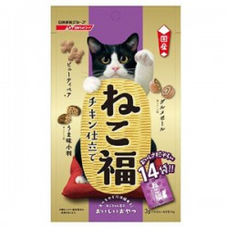 日清 貓大福 潔齒小食 雞肉味 (紫) 3gx14