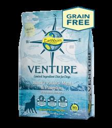 Earthborn Venture 阿拉斯加鱈魚+南瓜 單一蛋白配方 全犬 4磅