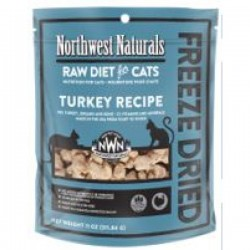 Northwest Naturals 貓隻系列脫水冷凍乾糧 - 火雞311g
