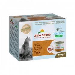 Almo Nature Light 吞拿魚+雞肉 貓罐頭 50g x4罐