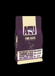 AATU 85/15/0 無穀物 走地雞肉低敏天然貓糧 1kg