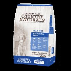 Country Naturals 無穀物 三文魚+白鮭魚 全犬種配方 4磅
