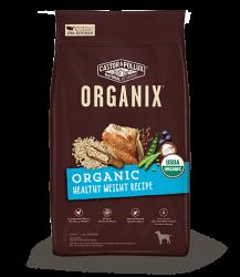 ORGANIX 穀物成犬糧 – 有機健康體重配方 4lb