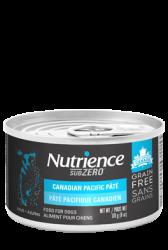 Nutrience 主食罐頭 - 三文魚、鯡魚配方+脫水三文魚 170g (藍罐)