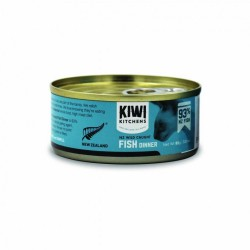 Kiwi Kitchens 紐西蘭 93%海洋魚 貓罐頭 85g