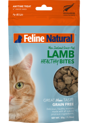 F9 Natural Lamb Healthy Bites 凍乾羊肉粒貓零食 50g 到期日:  15/03/2021