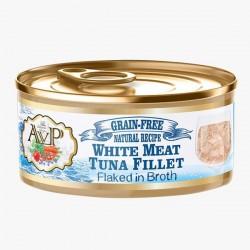 AVP 鮮肉無穀主食貓罐-湯煮系列-白吞拿魚70g