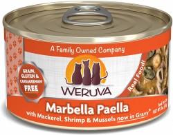 Weruva Marbella Paella 鯖魚片+魷魚圈+海蝦+青口 貓罐頭 3oz 到期日: 31/8/2021