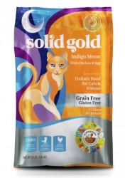 素力高無穀物(抗敏)乾貓糧 Solid Gold Indigo Moon Cat Food 12lb