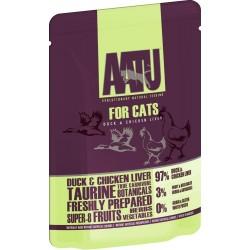 AATU 全配方貓濕糧包 雞肝+鴨 85g