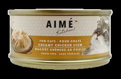 Aimé Kitchen 鮮雞肉濃湯Creamy Chicken Stew 貓罐 85g  x24罐優惠