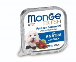Monge Fresh 鴨肉 狗餐盒 100g
