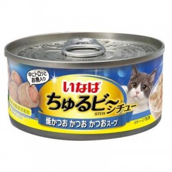 CIAO 流心粒粒 - 燒鰹魚.鰹魚+鰹魚湯 85g IM-352