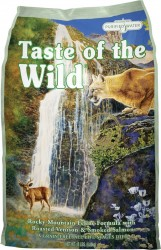 Taste of the Wild 貓糧 無穀物 烤鹿肉+煙燻三文魚配方 - 5lbs