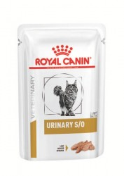 Royal Canin-Urinary S/O (in Loaf) 貓隻泌尿道處方濕包 - 85克 x12包 到期日: 05/06/2021