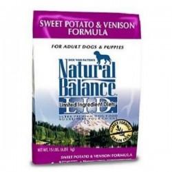 NaturalBalance無穀物抗敏甜薯鹿肉全犬糧26磅