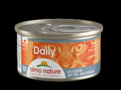 Almo Nature Sturgeon 鱘龍魚 主食Mousse貓罐頭 85g