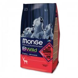 Monge 低穀物 野生鹿肉配方 幼犬乾糧 15Kg