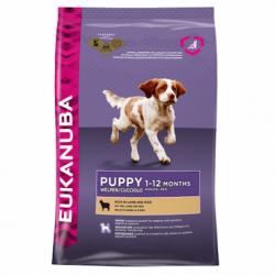 EUKANUBA 優卡幼犬天然羊肉米 (小型犬至大型犬)12 kg